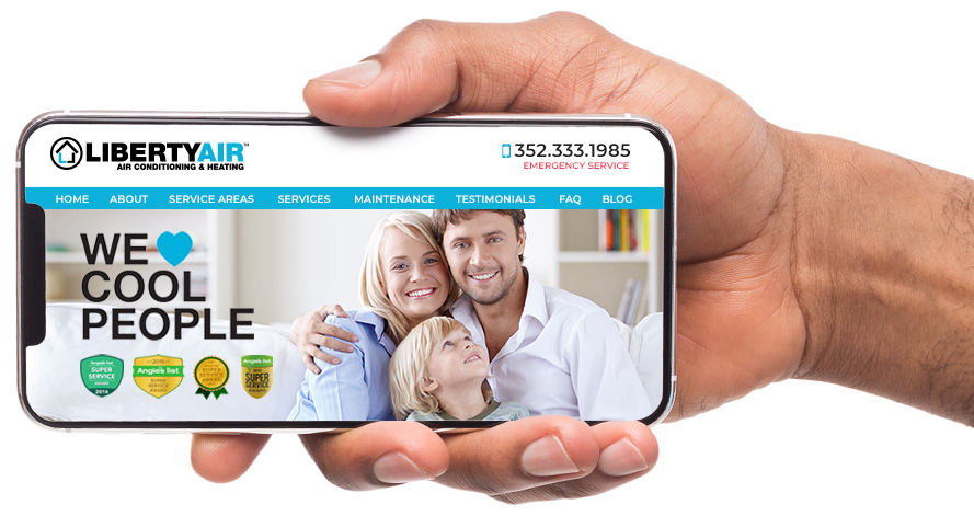 Web Design Example for Home Services
